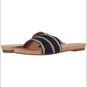 Hari Mari | Sydney Woven Slide Sandal Black 10